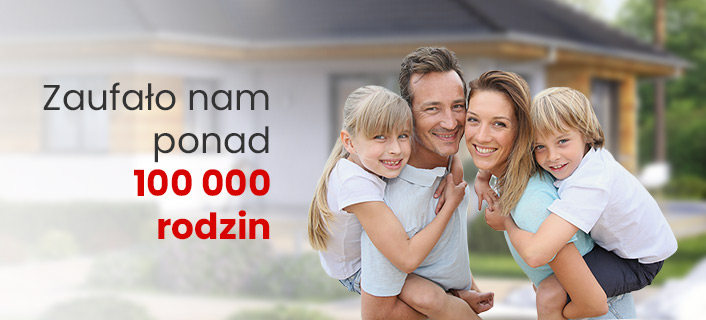 Zaufało nam ponad 100 000 rodzin